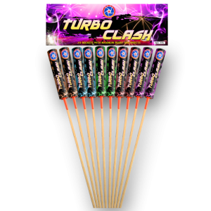 Heavy Legend Turbo clash rockets 10 stuks